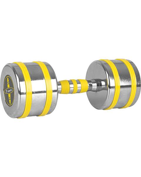 Insportline Chrómová činka inSPORTline Yellsteel 14 kg