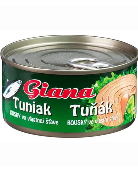 GIANA Giana Tuniak vo vlastnej stave 185 g prírodná chuť