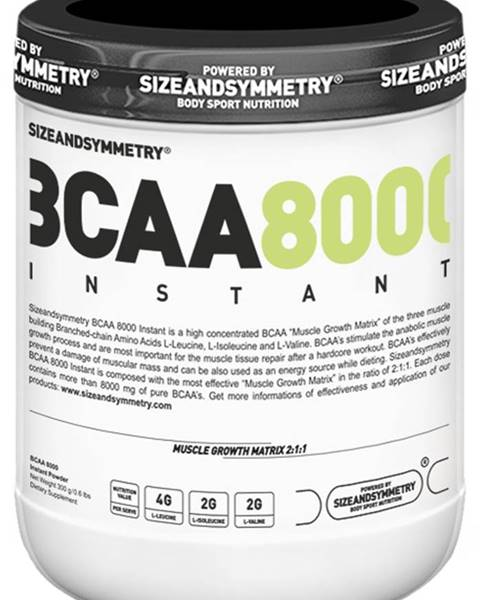 Sizeandsymmetry Sizeandsymmetry BCAA Instant 300 g variant: malina