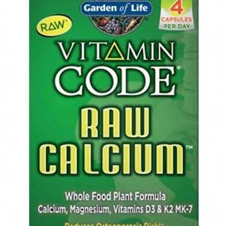 Garden Of Life Vápnik Raw 120 kapsúl