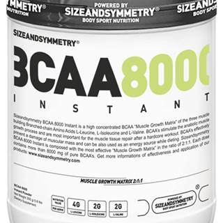 Sizeandsymmetry BCAA Instant 300 g variant: malina