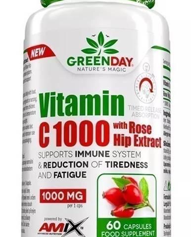 Amix Nutrition Amix Vitamin C 1000 s extraktom zo šípok 60 kapsúl