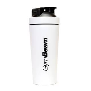 GymBeam Šejker Steel White 750 ml