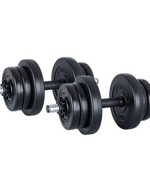 Insportline Jednoručný nakladací činkový set  inSPORTline DBS2181 2 x 3-10 kg