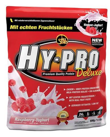 All Stars Hy-Pro 85 Protein Deluxe 500 g malina jogurt smoothie