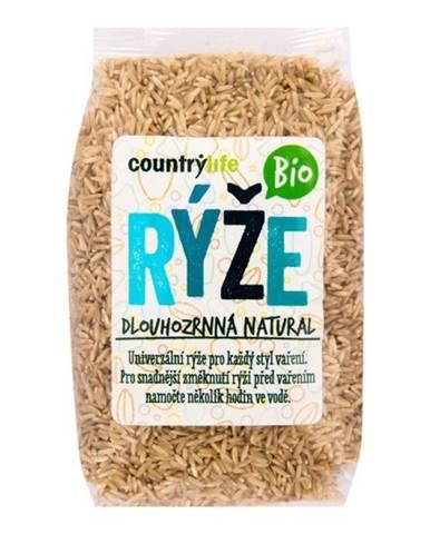 Country Life Bio Ryža dlhozrnná natural 500 g
