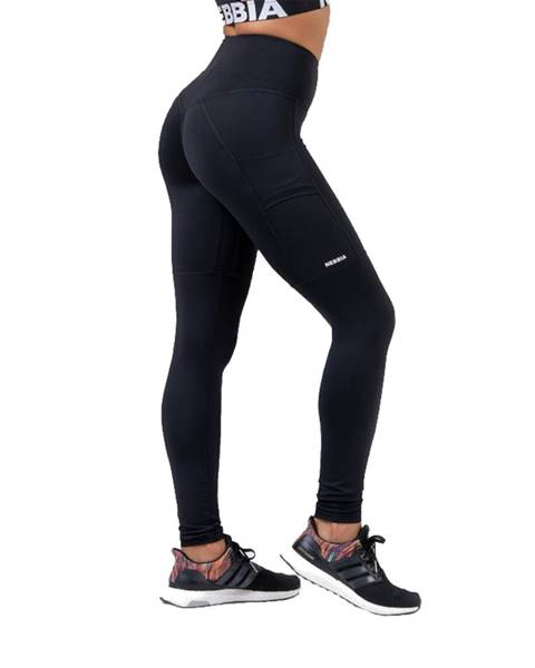 Nebbia Dámské legíny Nebbia High waist Fit&Smart 505 Black - S