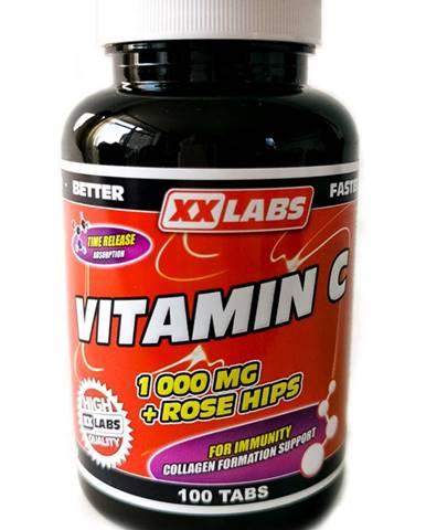 Xxlabs Vitamín C 1000 mg so šípkovým extraktom 100 tabliet