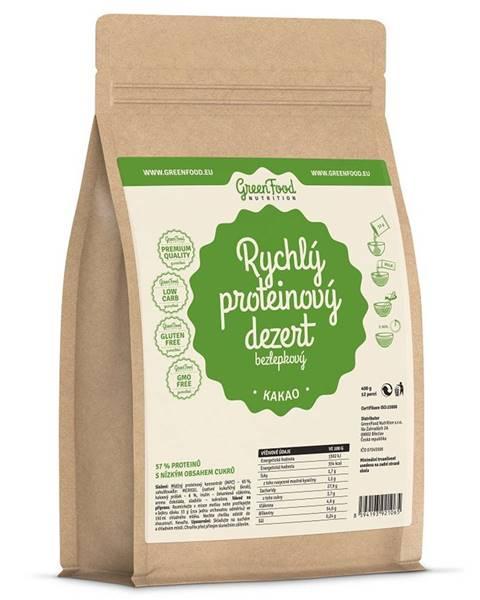 GreenFood GreenFood Rýchly proteínový dezert bezlepkový 400 g variant: kakao