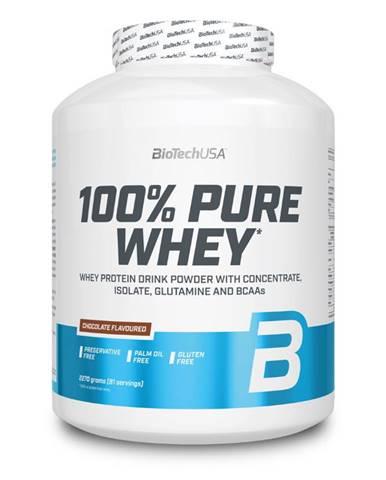 BioTech USA BioTech 100% Pure Whey 2270 g variant: banán