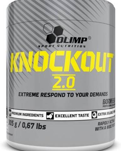 Olimp Knockout 2.0 305 g variant: citrus