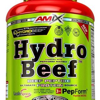 Amix Nutrition Amix HydroBeef Peptide Protein 1000 g variant: čokoláda - arašidy - karamel