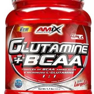 Amix Nutrition Amix L-Glutamine + BCAA Powder 500 g variant: bez príchuti