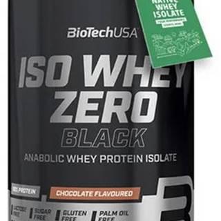 BioTech USA BioTech ISO Whey Zero Black 908 g variant: čokoláda