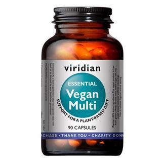 Viridian Vegan Multi (Multivitamín pre vegánov) 90 kapsúl