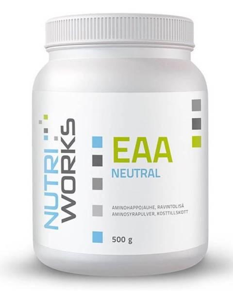 NutriWorks NutriWorks EAA 500 g variant: bez príchuti