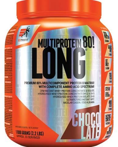 Extrifit Long 80 Multiprotein 1000 g variant: čokoláda - kokos