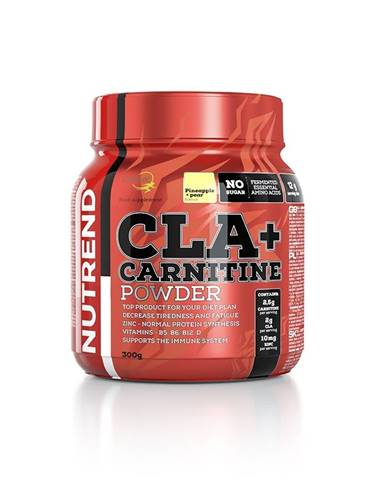 Nutrend CLA + Carnitine Powder 300 g variant: ananás - hruška