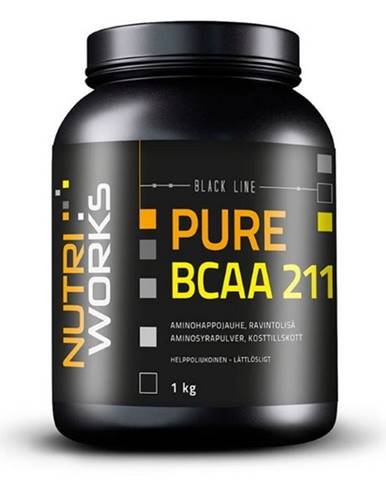 NutriWorks BCAA 2:1:1 1000 g variant: bez príchuti
