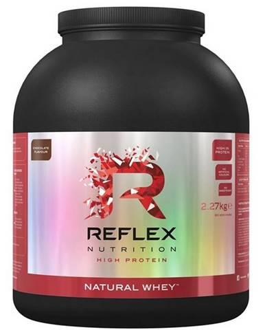 Reflex Nutrition Reflex Natural Whey 2270 g variant: čokoláda