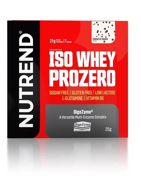 Nutrend Nutrend ISO Whey ProZero 25 g variant: čokoláda - brownie