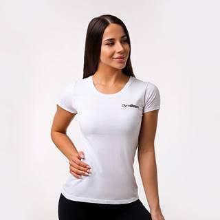 GymBeam Dámske tričko Basic White  S