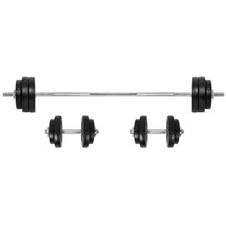 Nakladací činkový set inSPORTline BS08 3-50 kg