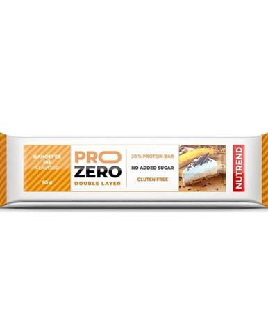 Proteinová tyčinka Nutrend PROZERO 65g banánovo-karamelový koláč