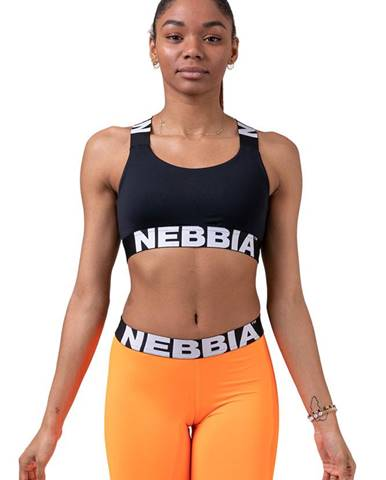 Nebbia Power Your Hero ikonická športová podprsenka 535 čierna variant: L