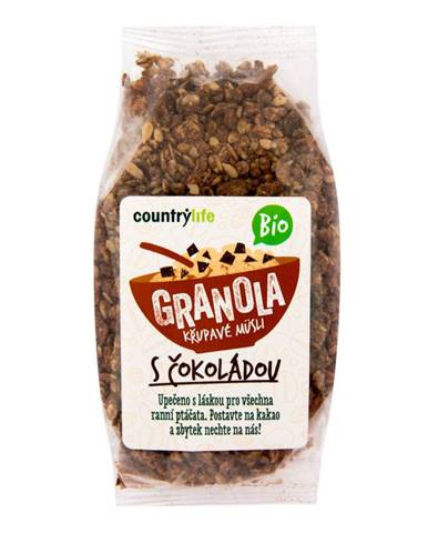 BIO COUNTRY LIFE Granola Chrumkavé ovsené müsli 350 g prírodná chuť