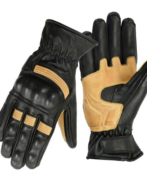 B-STAR MOTO Moto rukavice B-STAR Sonhel čierno-béžová - S