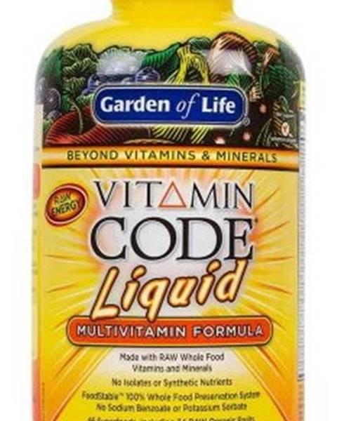 Garden of life Garden of Life Vitamin Code RAW Tekutý multivitamín 900 ml variant: pomaranč - mango