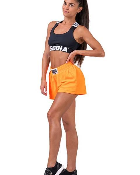 Nebbia Nebbia Neon Energy boxerské šortky 519 oranžové variant: M