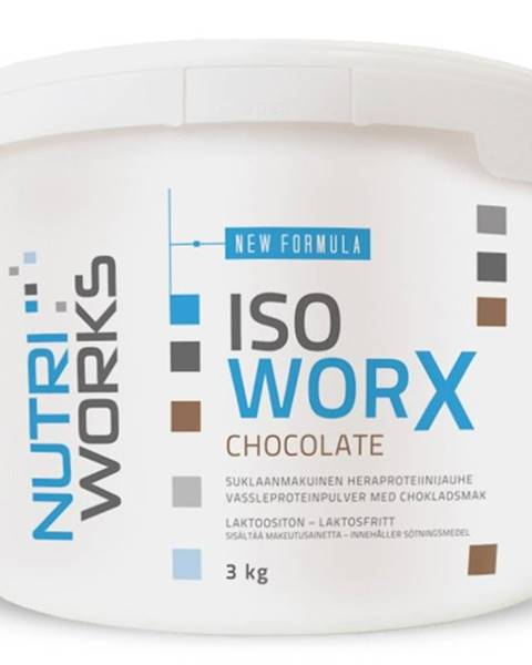 NutriWorks NutriWorks Iso Worx 3000 g variant: čokoláda