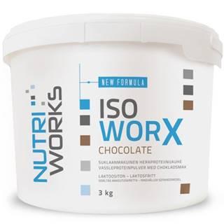 NutriWorks Iso Worx 3000 g variant: čokoláda