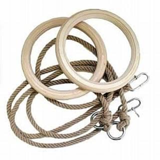 Spartan dřevěné gymnastické kruhy Průměr 18 cm