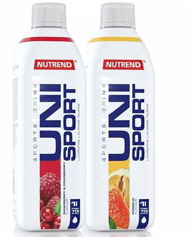 Nutrend Unisport 1000 ml biely grapefruit