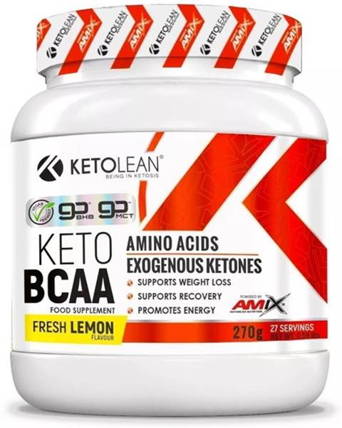 Amix Nutrition Amix Nutrition Amix KetoLean Keto goBHB + BCAA 270 g variant: citrón