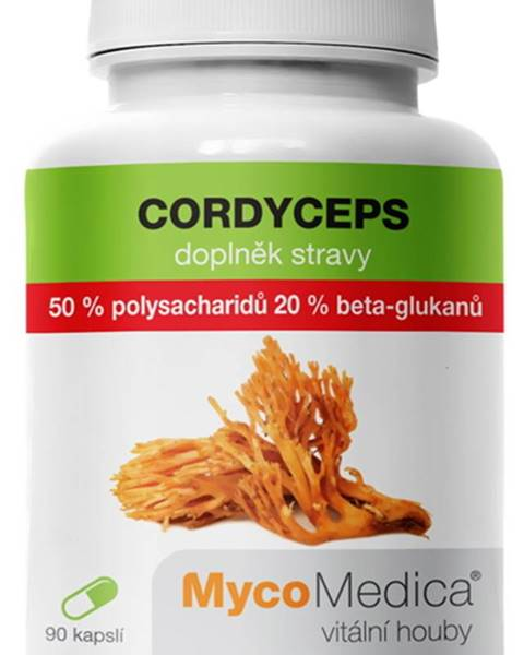 MycoMedica MycoMedica Cordyceps 50 % 90 kapsúl