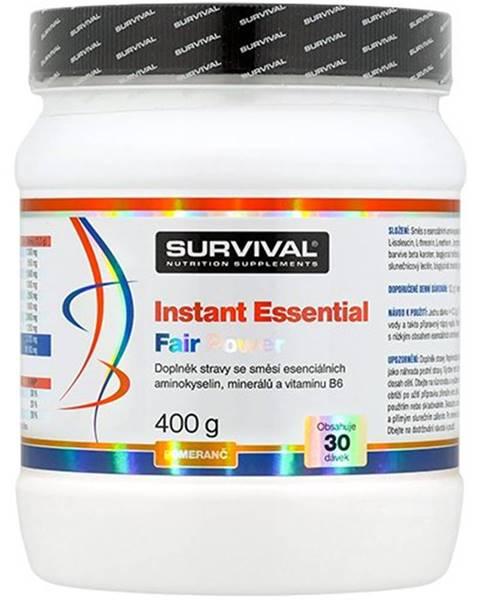 Survival Survival Instant Essential Fair Power 400 g variant: broskyňa