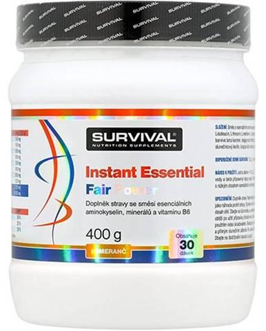 Survival Instant Essential Fair Power 400 g variant: broskyňa