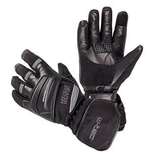 Vyhrievané rukavice W-TEC HEATston šedá - XS