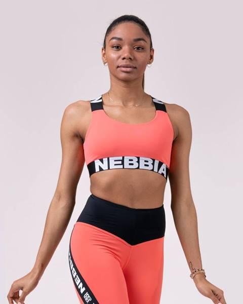 Nebbia NEBBIA Športová podprsenka Power Your Hero Peach  S