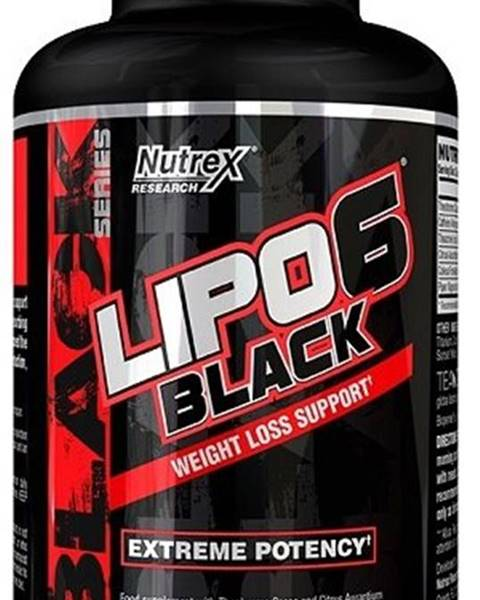 Nutrex Lipo 6 Black - Nutrex 120 kaps