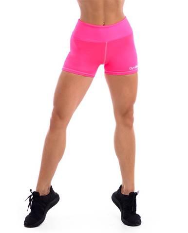 GymBeam Dámske fitness šortky Fly-By Pink  L